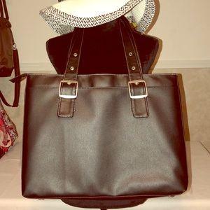 Handbags - SOLO Black Laptop Work Travel Tote Large NWOT